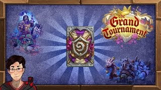 Hearthstone Grand Tournament Expansion - New Cards Review Two! (35+ Cards)