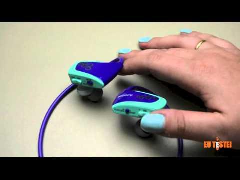 MP3 Player à prova d'água Sony Walkman NWZ-W262 - Resenha Brasil