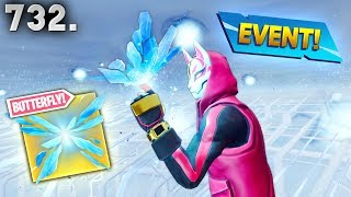 *NEW* BUTTERFLY CUBE EVENT! - Fortnite Funny WTF Fails and Daily Best Moments Ep.732