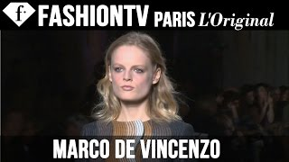 Marco de Vincenzo Fall/Winter 2014-15 FIRST LOOK | Milan Fashion Week | FashionTV