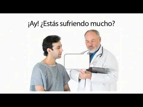 Learn Spanish 4.9 - Possessive Adjectives and Body Parts in the Doctor's Office