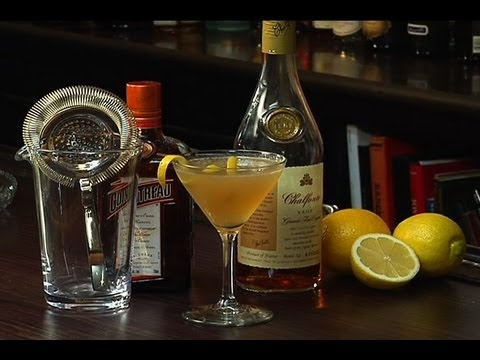 Sidecar Cocktail - The Cocktail Spirit with Robert Hess - Small Screen