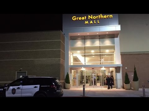 Bomb-sniffing dogs sweep Great Northern Mall after bomb threat