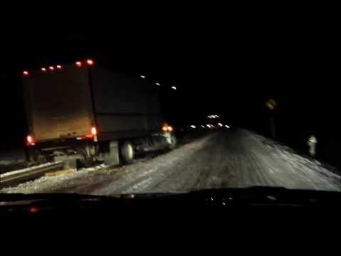 Atlanta Snow & Ice Storm January 28, 2014 - 11 Hour Drive Home via I-75