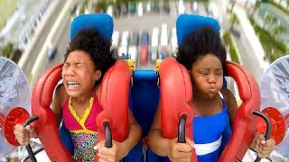Kids - GIRLS | Funny Slingshot Ride Compilation