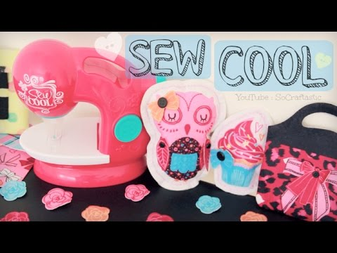 Sew Cool Sewing Studio (Needle Felting) - Demo & Review - SoCraftastic