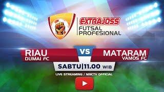 Download Lagu DUMAI FC (RIAU) VS VAMOS FC (MATARAM) - (FT : 0-4) Extra Joss Futsal Profesional 2018 Gratis STAFABAND