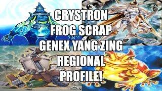 3rd Place Crystron Frog Yang Zing Scrap Genex (WTF) Örebro, Sweden Regional Profile by Ludwig Rahm