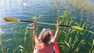 Canoe Trip on the Lake Ohrid  | Kanu paddeln am Ohrid See