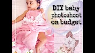 Diy Baby photoshoot at home | Click series 3 | Indian Mom