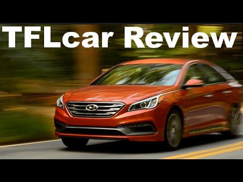 2015 Hyundai Sonata Turbo Review: More Style, Comfort & Car video