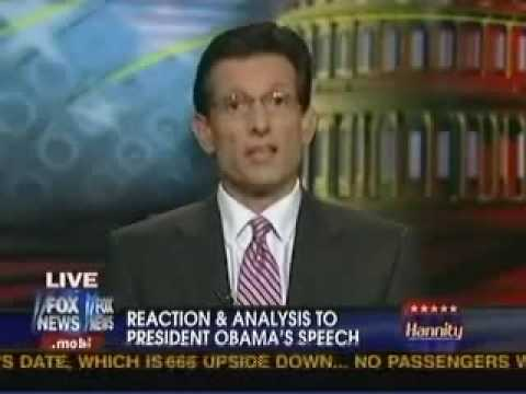 Republican Whip Eric Cantor Responds To President Barack Obama's Health Care Address On FOX News