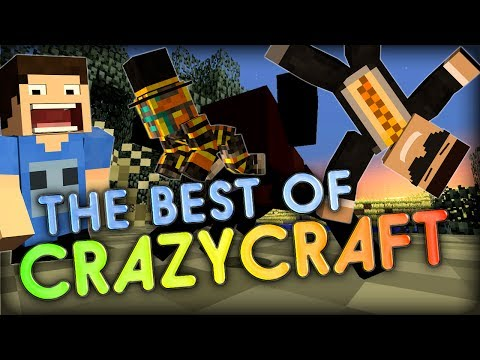 The Best Of CrazyCraft Funny Minecraft Mods Montage w Double and Ghost