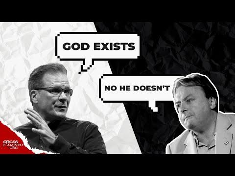 Does God Exist? (Frank Turek vs Christopher Hitchens)