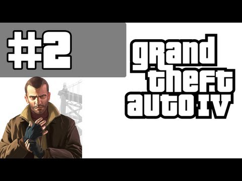 Grand Theft Auto 4 Walkthrough / Gameplay with Commentary Part 2 - Cheesing It