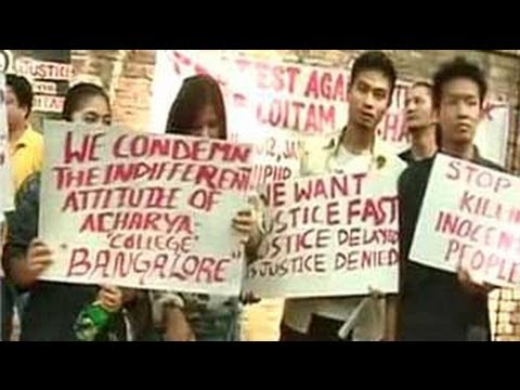 Richard Loitam death: Students hold protests in Delhi, Bangalore
