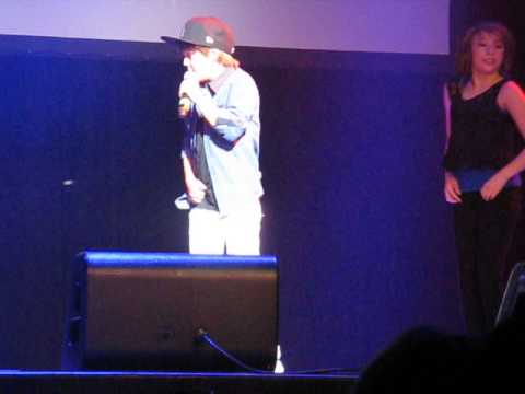 Matty B Concert In La - Boyfriend scream & Shout video