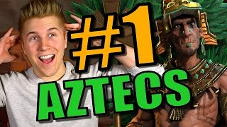 DOMINATION STRATEGY! | Civilization 6: Aztec Gameplay [Civ 6 Let's Play Strategy] - Part 1