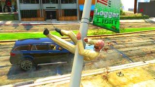 GTA V Unbelievable Crashes/Falls - Episode 25