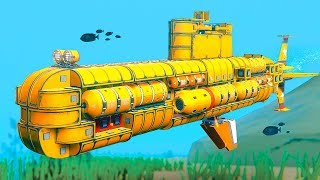 WHO HAS THE BEST SUBMARINE CHALLENGE!? - Trailmakers