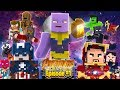 Minecraft Adventure - THE AVENGERS INFINITY WAR!!!