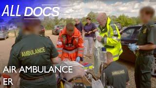 Air Ambulance ER: Helping a Golfer in Cardiac Arrest   Medical Documentary   Documental