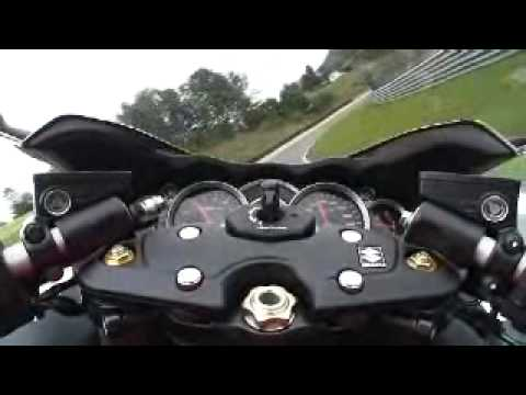 2008 Suzuki Hayabusa: Onboard at the Salzburgring Video