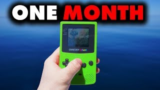 I Only Played Gameboy for 30 Days - Forge Labs