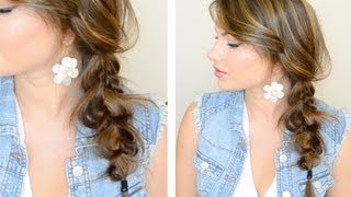 The Messy Side Braid