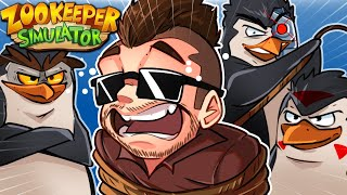 Zookeeper Simulator Funny Moments - Penguins Escape!
