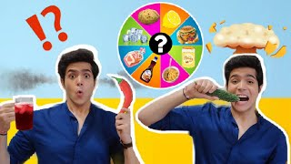 SPIN WHEEL MEAL CHALLENGE | RAJ ANADKAT |