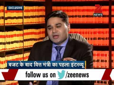Zee Media Exclusive interview with FM Arun Jaitley