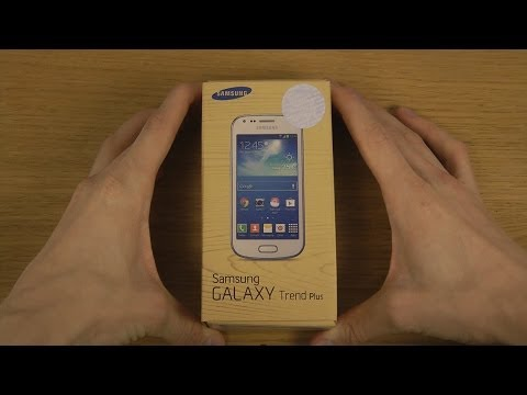 Samsung Galaxy Trend Plus - Unboxing