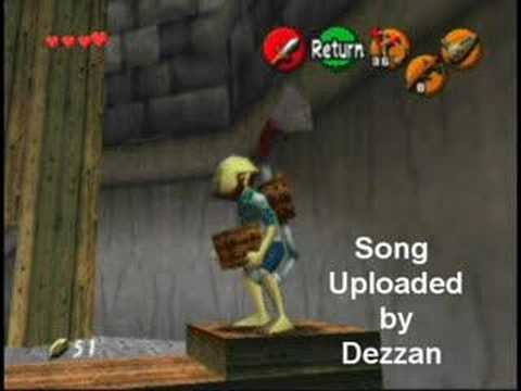 The Legend of Zelda - Ocarina of Time - Windmill Hut