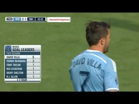 New York City FC vs Vancouver Whitecaps 3-2 All Goals & Highlights 30.04.2016