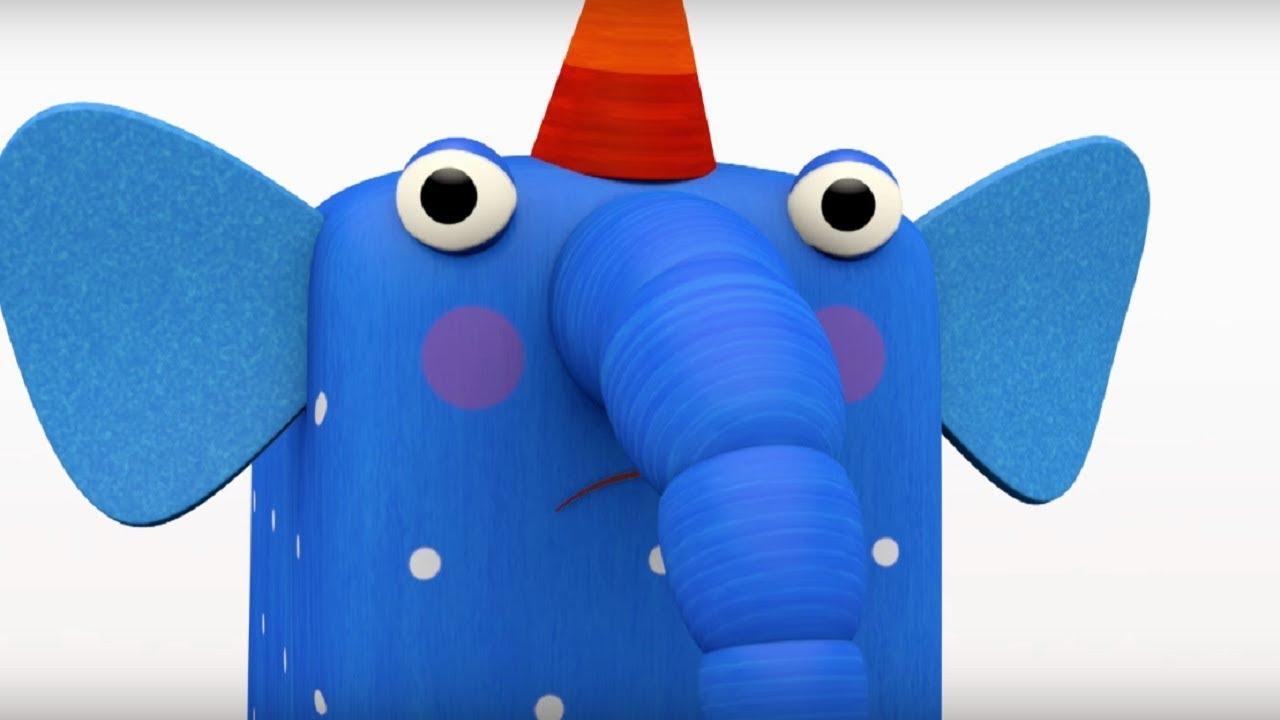 Деревяшки - сборник серий 2 - развивающие мультфильмы для самых маленьких  0-4