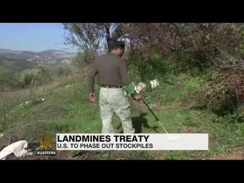 US to join international landmine treaty