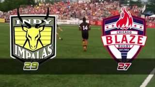 Indy Impalas Rugby at Chicago Blaze