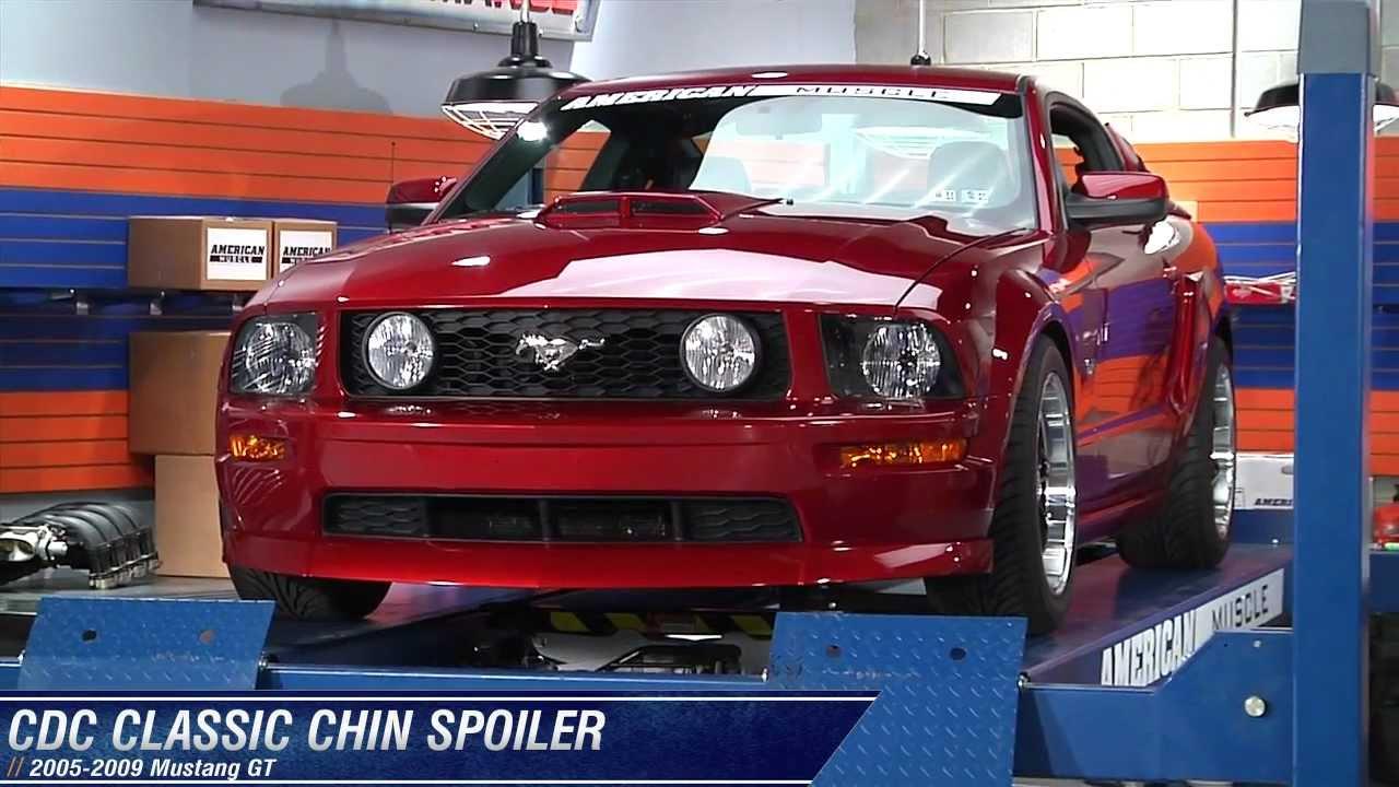 Spoiler 2013 Mustang Mustang Chin Spoiler
