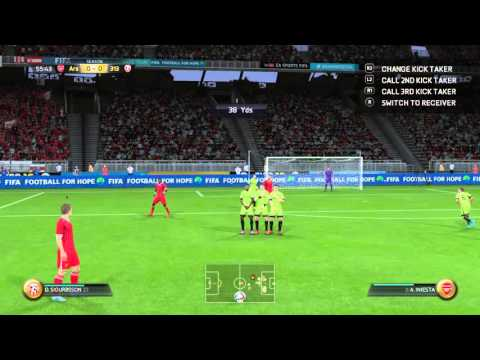 Gylfi Sigurdsson Free Kick FIFA 16