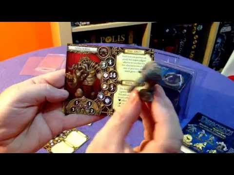 Shards of Everdark Monster and Hero pack for Descent 2nd Ed ~ whats in the box? with biffta