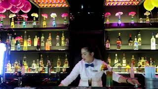 KORINA-DURING BARTENDER'S COMPETITION