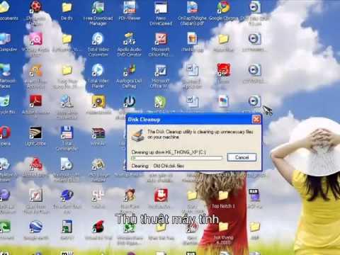 Hướng dẫn tăng tốc máy tính hệ điều hành Windows XP | Hướng dẫn tăng tốc máy tính hệ điều hành Windows XP