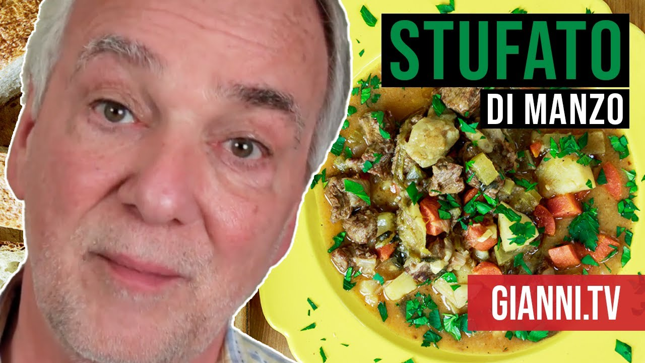 Italian Beef & Vegetable Stew: Stufato di Manzo, Italian Recipe ...