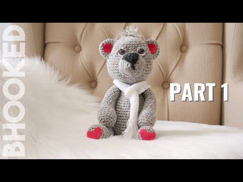 How to Crochet a Teddy Bear Video 1