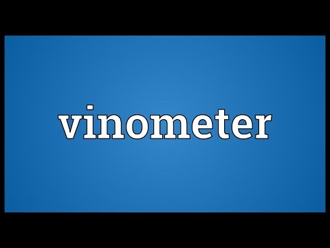 Header of vinometer