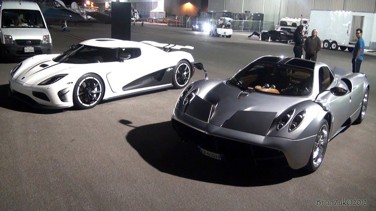 Pagani Huraya >> Pagani Huayra or Koenigsegg Agera R? - YouTube