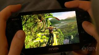 10 Minutes of Uncharted_ Golden Abyss PS Vita Gameplay [Off Screen]