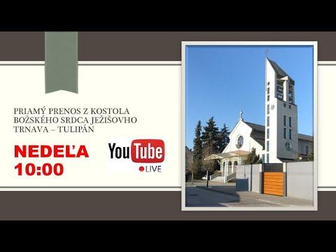 Priamy prenos sv. omše Trnava - Tulipán 11.10.2020 10.00 h