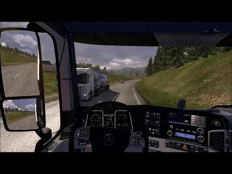 Harta României ETS2 : Oradea - Brasov ( Euro Truck Simulator 2 )